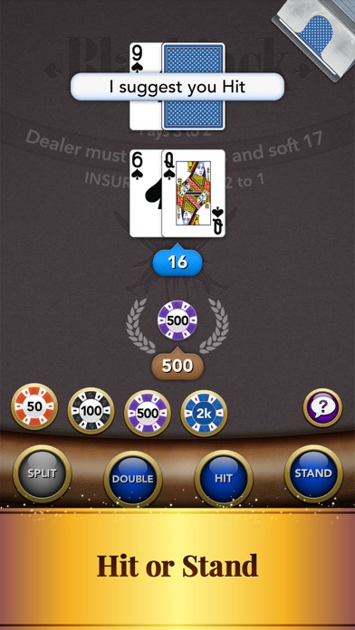 Blackjack – Casino Card Game screenshot four