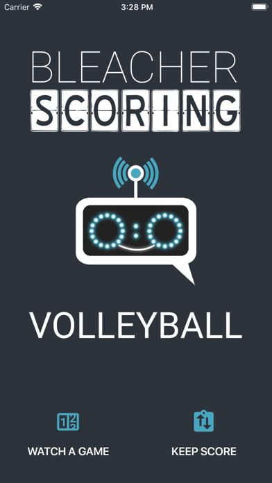 Bleacher Scoring – Volleyball 5