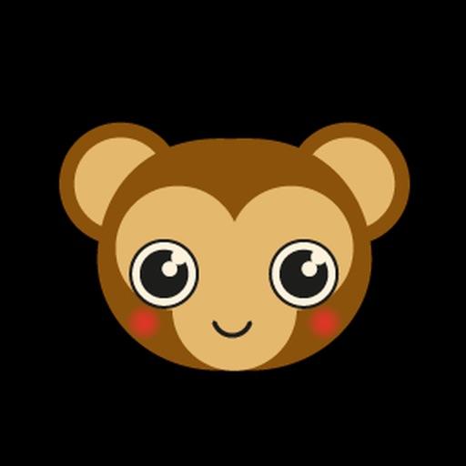 Monkey BaBy Lovely Sticker