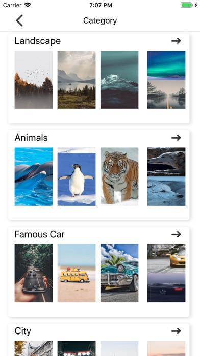 Screenshot for UniqueWallPaper in United States App Store
