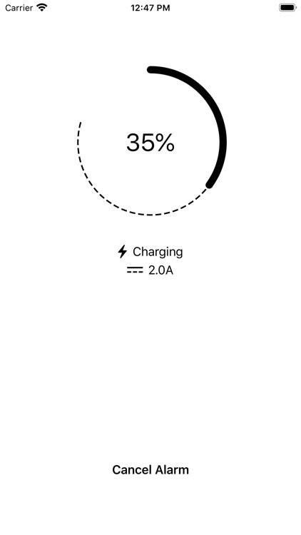 Battery Charge Alarm screenshot-4