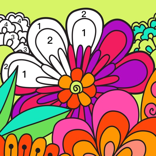 iPaint Art - Color by Number