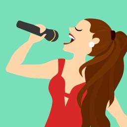 Sing karaoke songs a long VOCA