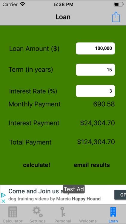 myNestEgg retirement calc screenshot-4