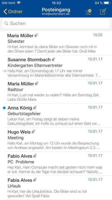 1&1 MailScreenshot von 3