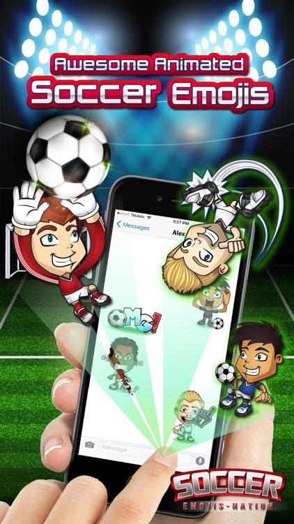 Soccer Emojis Nation