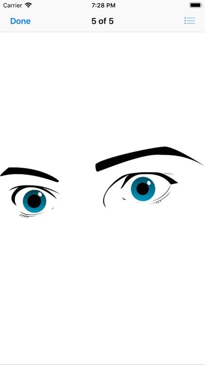 Shapely Eyebrow Stickers screenshot-5