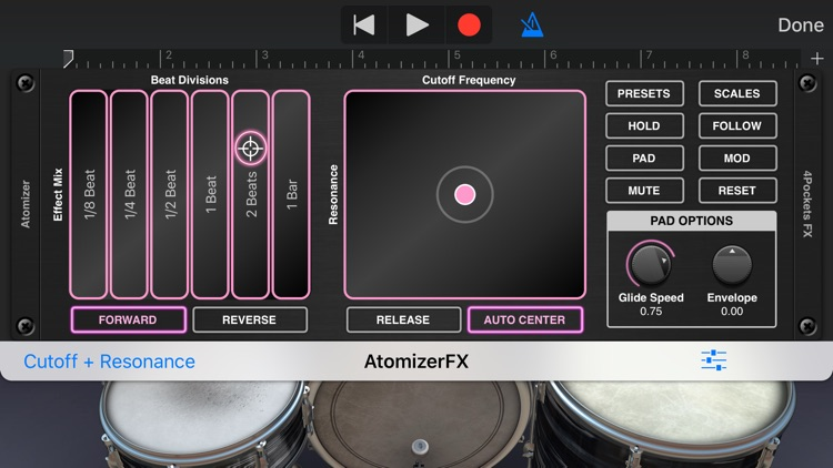 Atomizer AUv3 Plugin screenshot-3