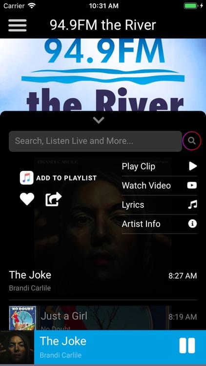 94.9 FM - the River screenshot-3