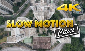Slow Motion Cities 4K