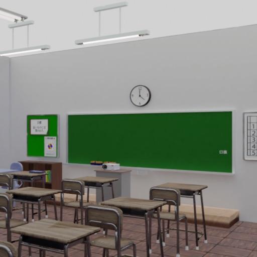 ミニ脱出ゲーム 思い出の教室