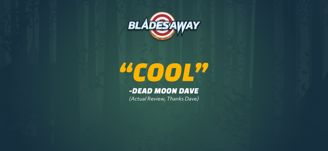 Blades Away: Knife Throwing, game for IOS