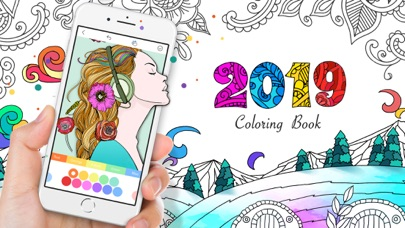 Coloring Book • 2019 • Screenshot on iOS