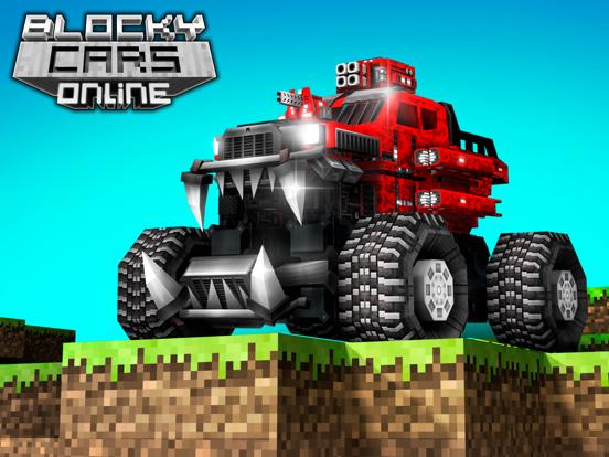 Blocky Cars: 銃撃ゲームと戦車と車のおすすめ画像1