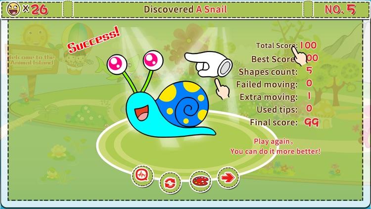 Animals' Color Shape Puzzle 2+ screenshot-5