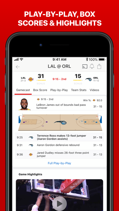 messages.download ESPN: Live Sports & Scores software
