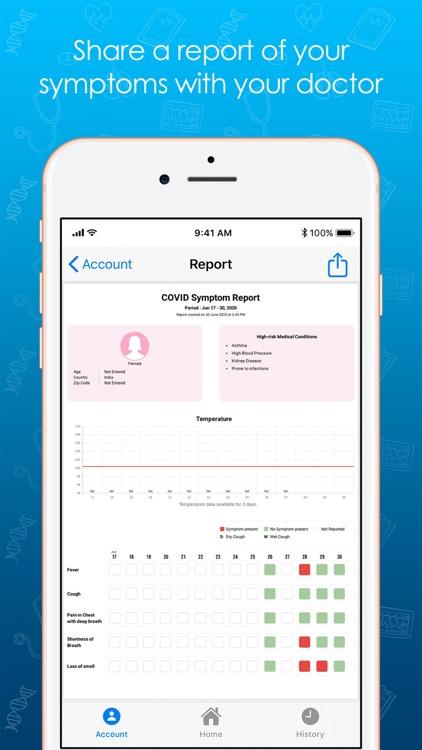 COVID Symptom screenshot-7
