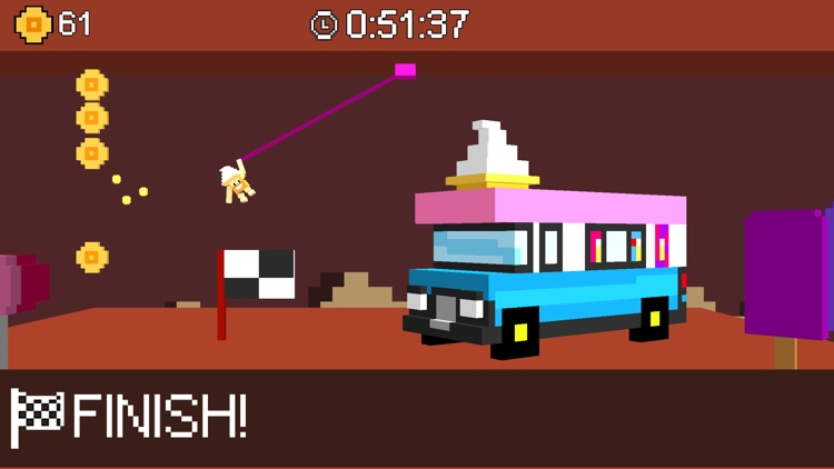 Swing Skills - Rope Swing Game screenshot-3