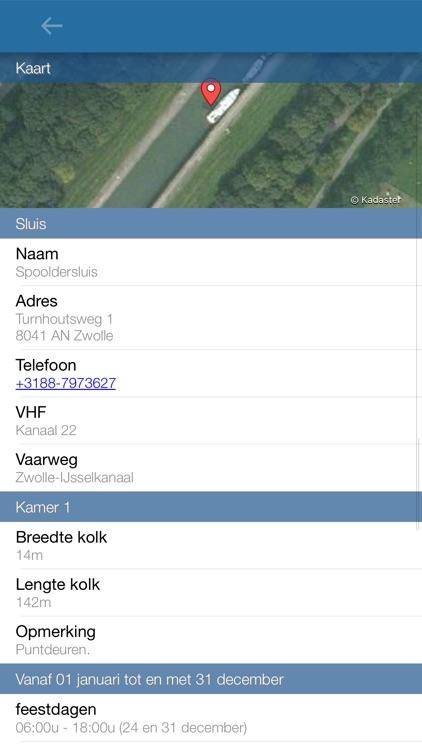 Vaarkaart Nederland screenshot-3