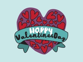 56 beautifully styled stickers for Valentine's Day and everyday