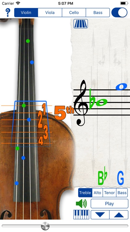 Fingering Strings for iPhone screenshot-1