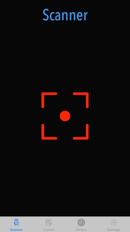 QR Code Scanner,QRCode Creator screenshot-0