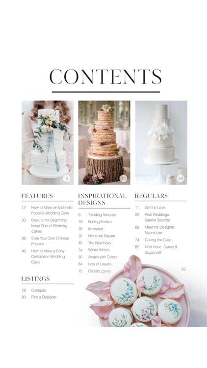 Wedding Cakes Magazine