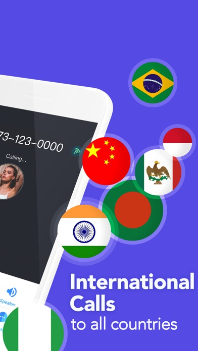 Screenshot for TalkU Unlimited Calls + Texts in United States App Store