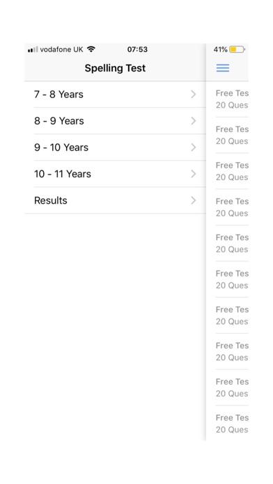 Screenshot for Spelling Test Practice Pack in Japan App Store