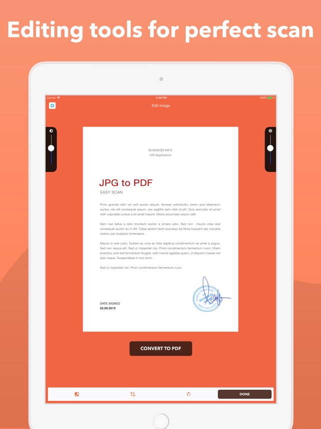 Photos to PDF Image converter on the App Store