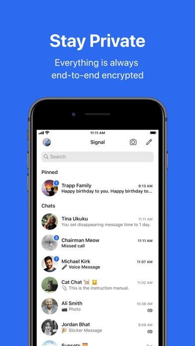 Signal - Private Messenger app image