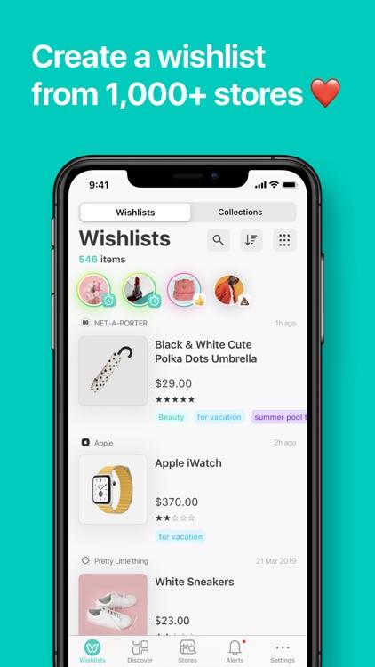 WishUpon - Shopping Wishlist screenshot-0