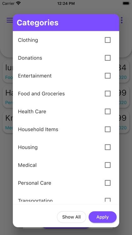 Daily Expense Tracker screenshot-3