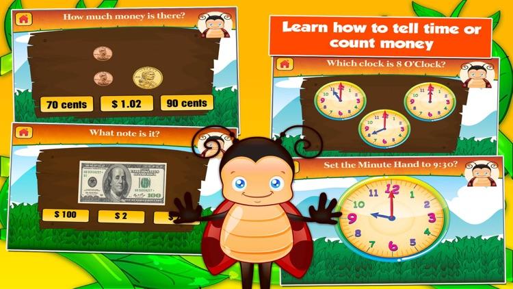 Bugs Second Grade Kids Games