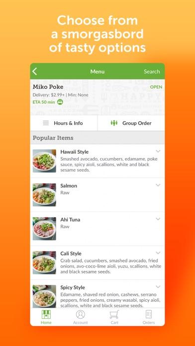 messages.download EatStreet Food Delivery App software