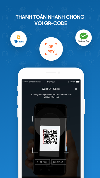 VIMO ví điện tử chuyển tiền screenshot four
