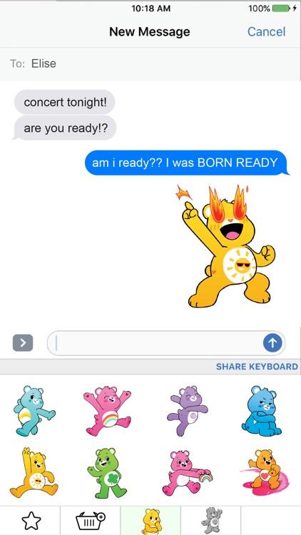 Care Bears Sticker Share screenshot-3