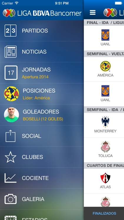 Liga BBVA MX App Oficial screenshot-1