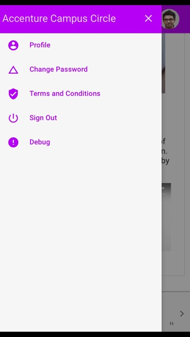 AccentureCandidateApp app image