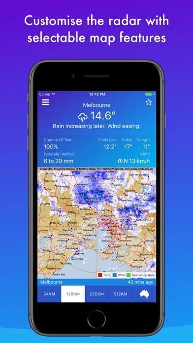 AUS Rain Radar - Bom radarのおすすめ画像4