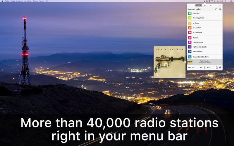 Receiver Radio Screenshot