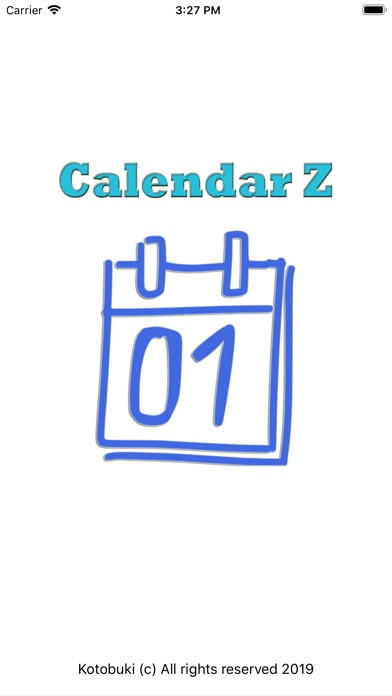 Screenshot for CalendarZ in United States App Store