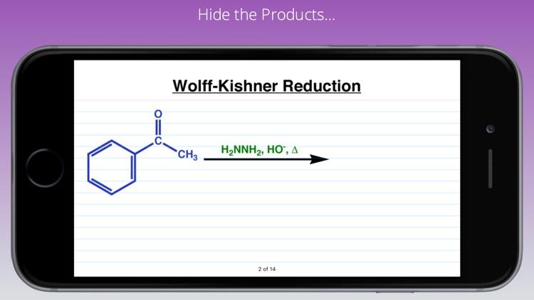 Organic Reaction Cards screenshot-5