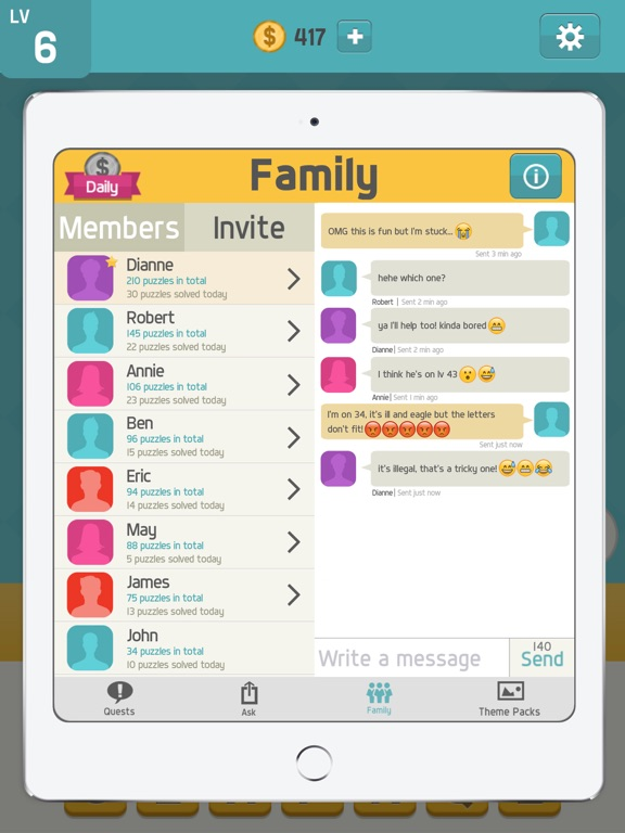 Screenshot #4 for Pictoword: Fun New Word Games