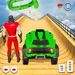 Superheroes Buggy Racing Stunt