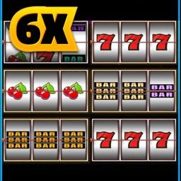 Triple Slots 6X Machines Multi