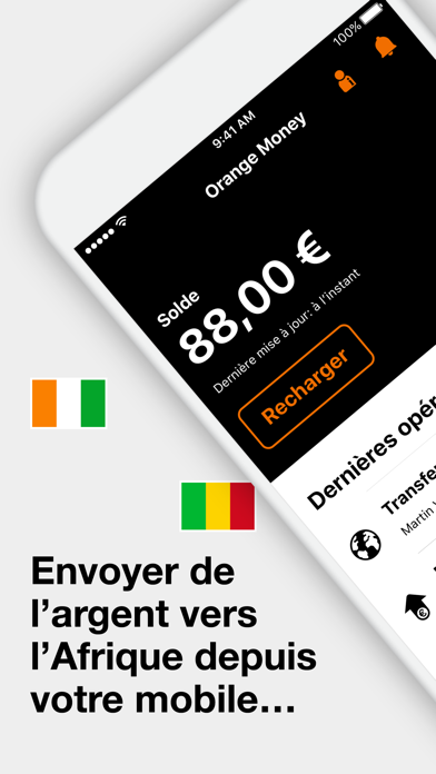 Orange Money France screenshot one