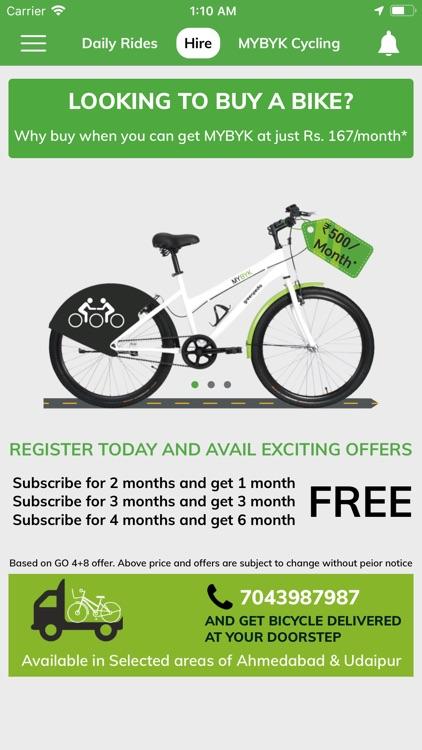 MYBYK - Smart Bike Share
