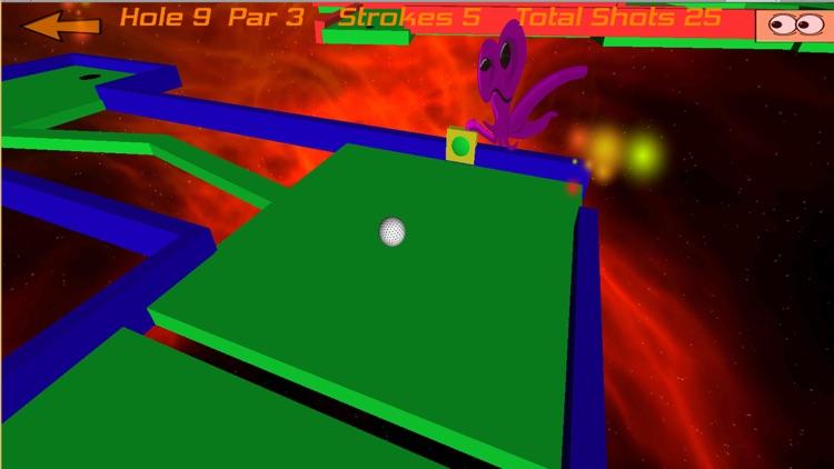 Crazy Golf in Space Pro screenshot-0
