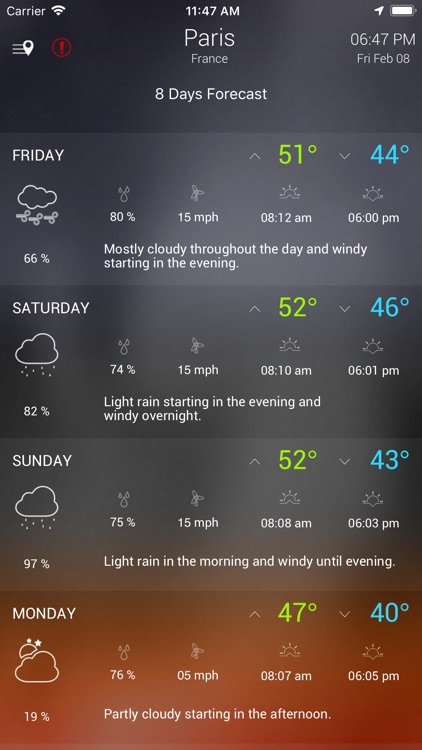 Wther - Weather Forecast screenshot-6